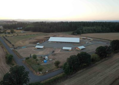 Drone photos of new facility