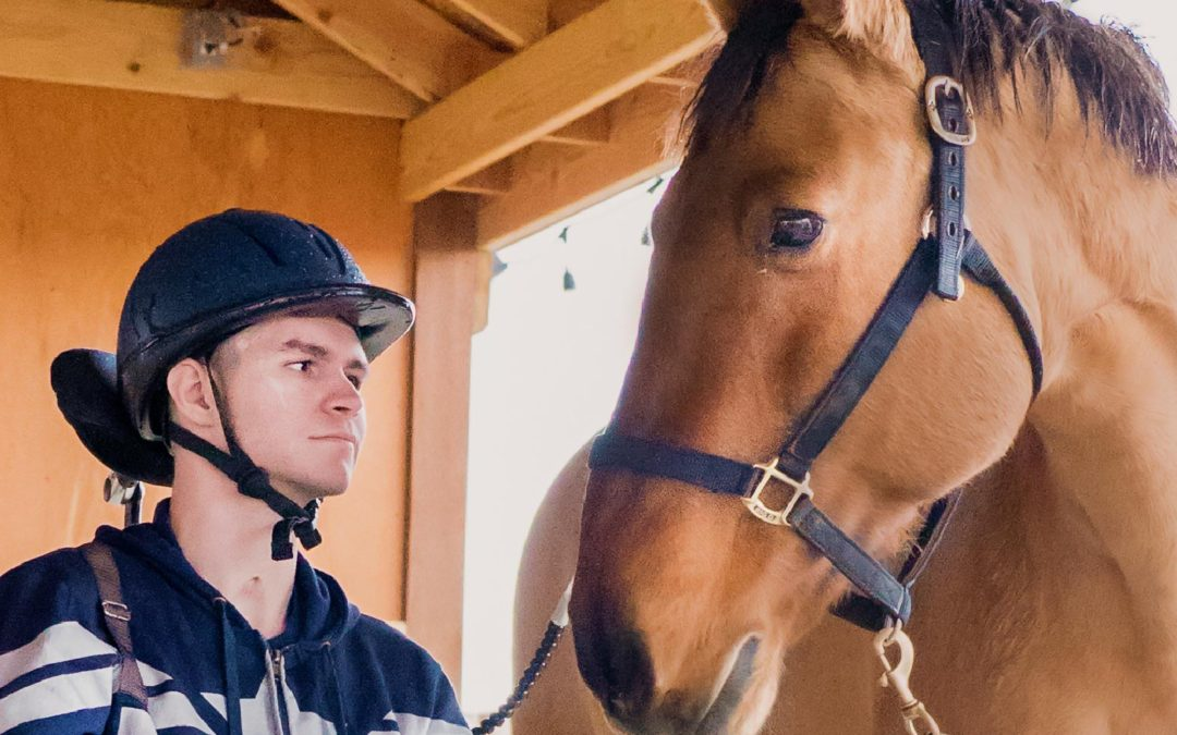 Horses Are Helping a Triple Amputee Veteran Walk Again